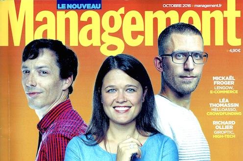 Magazine management - conférence chef d'orchestre